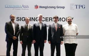 Hong Leong Group and TPG to acquire 17 Columbia Asia hospitals(c)New Straits Times